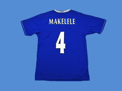 CHELSEA 2003 2005 MAKELELE 4 HOME JERSEY