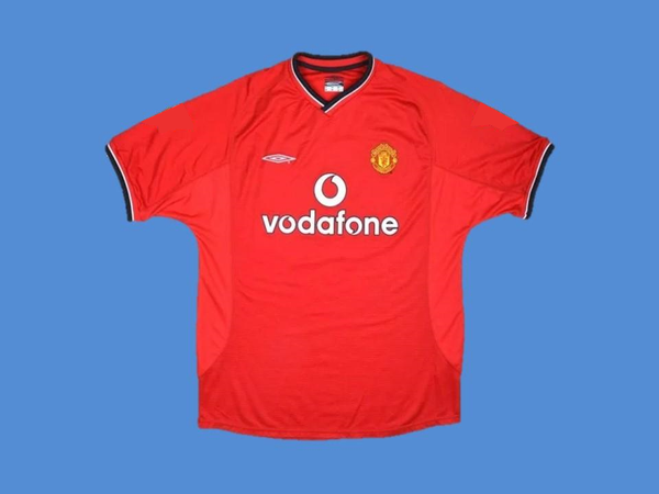 MANCHESTER UNITED  2000 2002 V. NISTELROOY 10  HOME JERSEY