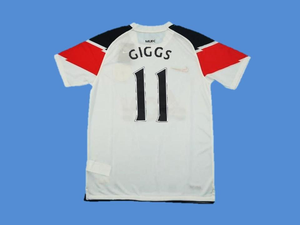MANCHESTER UNITED 2010 2011 GIGGS 11 AWAY JERSEY