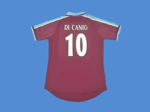 WEST HAM UNITED 1999 2001 DI CANIO 10 HOME JERSEY