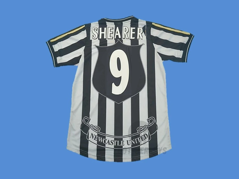 NEWCASTLE 1997 1999 SHEARER 9 HOME JERSEY