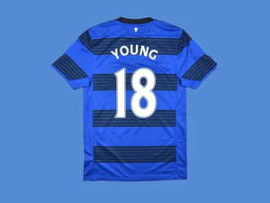 MANCHESTER UNITED  2011 2012 YOUNG 18 AWAY  JERSEY