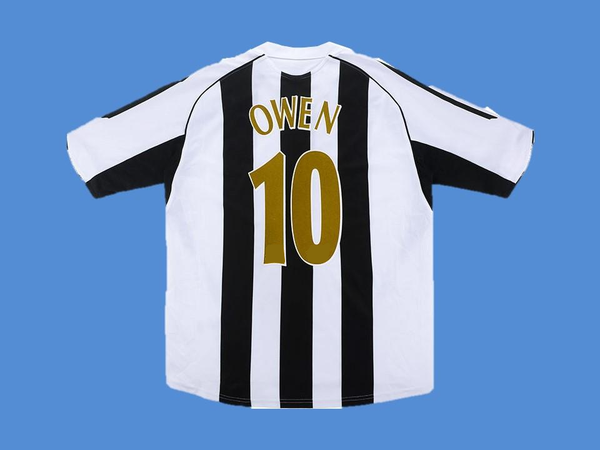 NEWCASTLE  2005 2006 OWEN 10  HOME JERSEY
