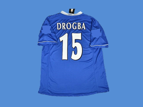 CHELSEA 2003 2005 DROGBA 15 HOME JERSEY
