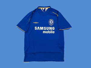 CHELSEA 2005 2006 CENTENARY HOME JERSEY