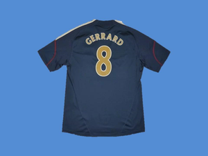 LIVERPOOL 2009 2010 GERRARD 8 AWAY JERSEY