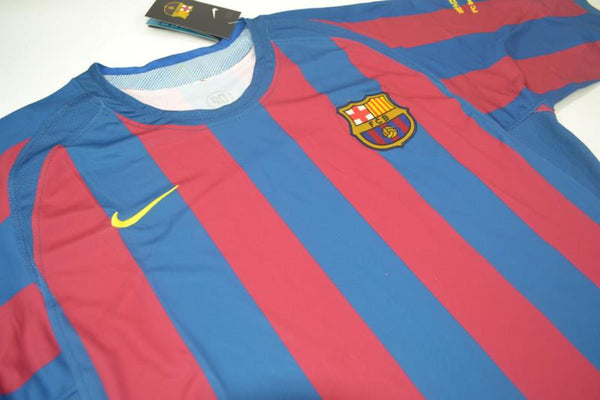 FC BARCELONA 2006 ETO 9 UCL FINAL HOME JERSEY