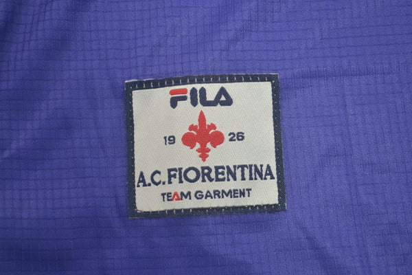 FIORENTINA 1998 1999 RUI COSTA 10 LONG SLEEVE HOME JERSEY