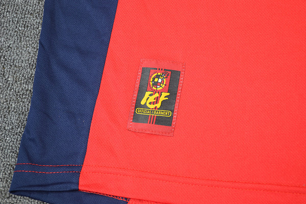 SPAIN 1998 RAUL 10 WORLD CUP HOME  JERSEY