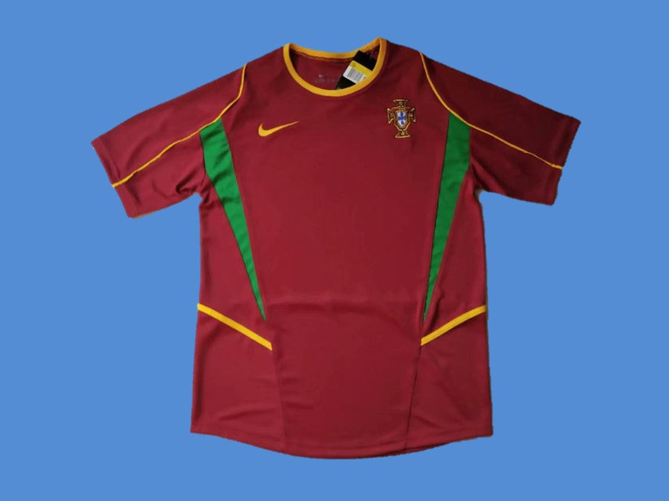 PORTUGAL 2002 WORLD CUP HOME  JERSEY