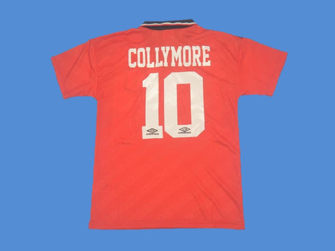 NOTTINGHAM FOREST 1994 1996 COLLYMORE 10  HOME JERSEY