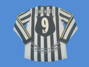 NEWCASTLE 1997 1999 SHEARER 9 HOME JERSEY LONG SLEEVE