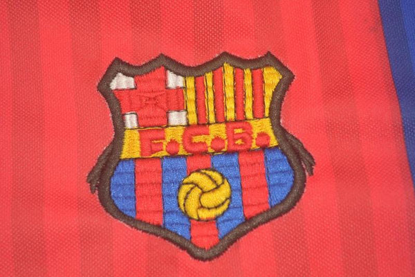 BARCELONA 1991 1992 NUMBER 8 HOME JERSEY