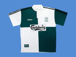 LIVERPOOL 1995 1996 AWAY JERSEY