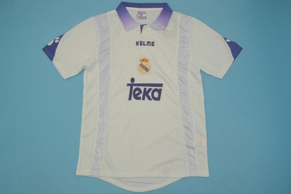 REAL MADRID 1997 1998 MIJATOVIC 8 HOME JERSEY
