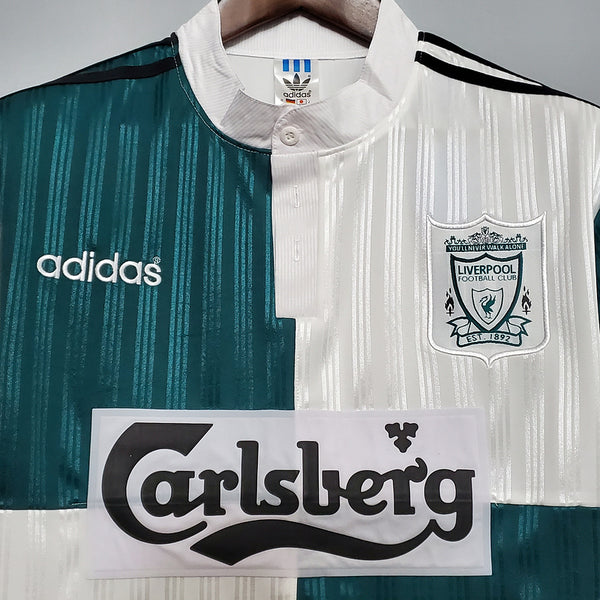 LIVERPOOL 1995 1996 BARNES 10 AWAY JERSEY