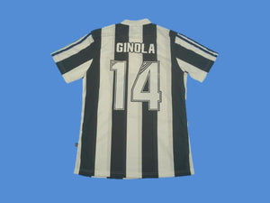NEWCASTLE 1995 1996 1997 GINOLA 14 HOME JERSEY