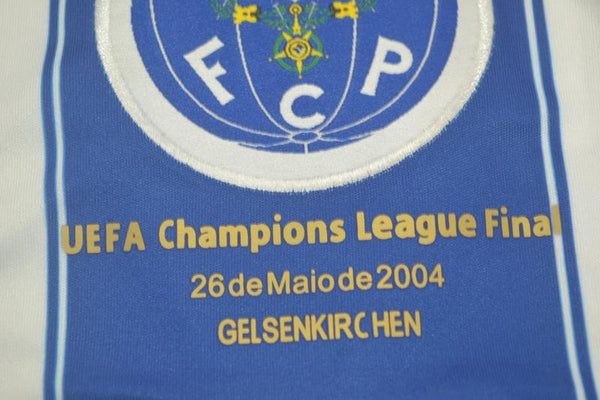 PORTO 2003 2004 McCARTHY 77 HOME  JERSEY CHAMPIONS LEAGUE