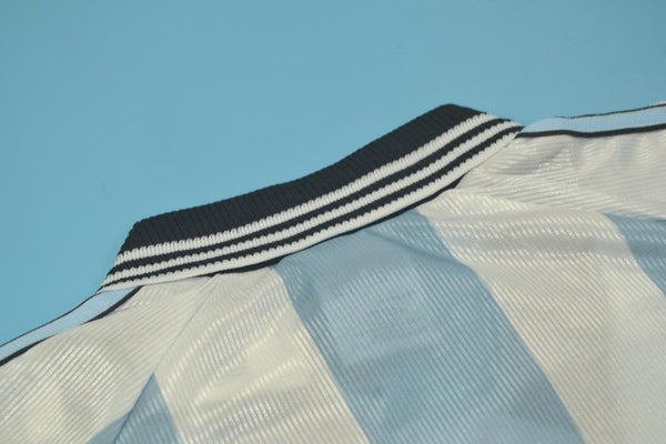 ARGENTINA 1998 REDONDO 5 WORLD CUP HOME  JERSEY