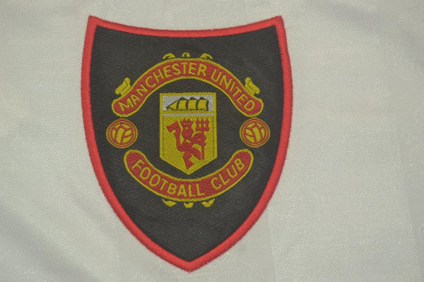 MANCHESTER UNITED 1997 1998 1999  AWAY JERSEY UCL PATCH
