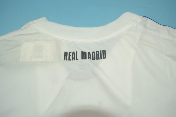 REAL MADRID 2010 2011 HOME JERSEY CHAMPIONS LEAGUE