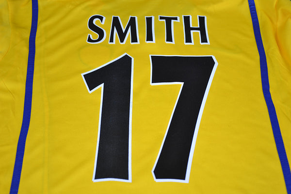 LEEDS 2000 2001 SMITH 17  UCL HOME JERSEY