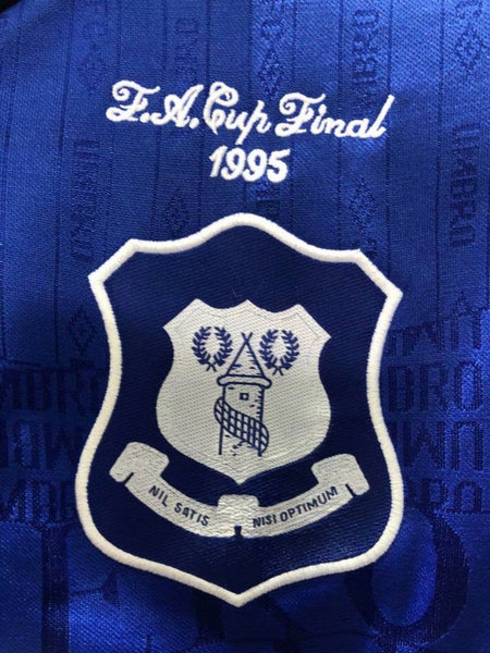 EVERTON 1994 1995 HOME JERSEY