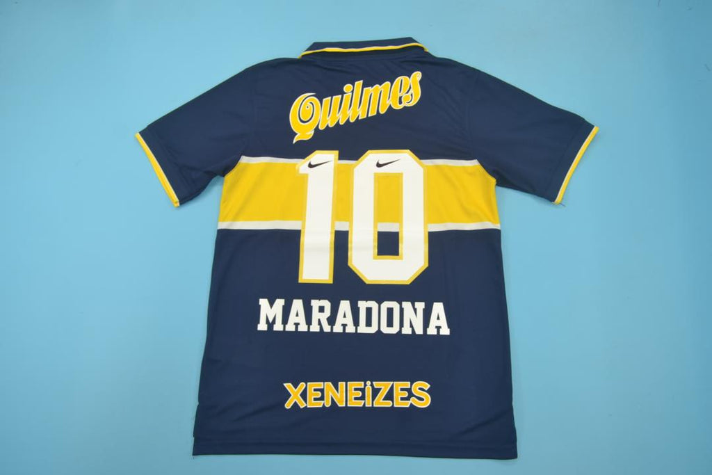 online retailer d2fba 04ccf BOCA JUNIORS 1996 1997 MARADONA 10 HOME FOOTBALL SHIRT ...