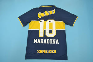 dd3340ee6db BOCA JUNIORS 1996 1997 MARADONA 10 HOME FOOTBALL SHIRT SOCCER JERSEY