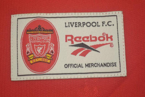 LIVERPOOL 1998 2000 HOME  JERSEY