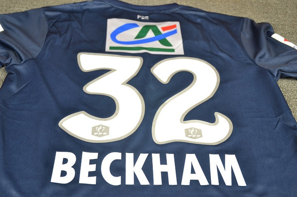 PARIS SAINT GERMAIN PSG 2012 2013 BECKHAM 32   HOME JERSEY