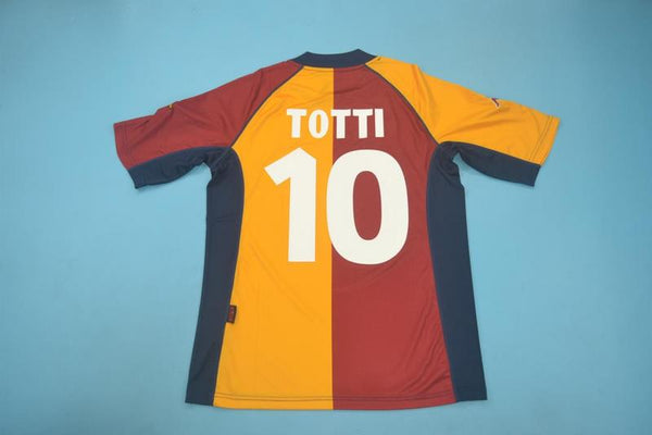 AS ROMA 2001 2002 TOTTI 10  HOME JERSEY