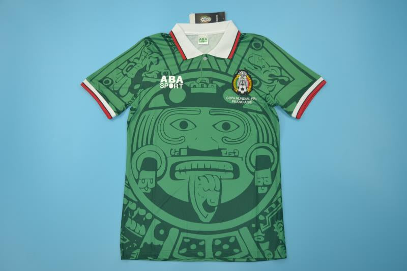 4bef1e43c ... MEXICO 1998 WORLD CUP BLANCO 11 HOME FOOTBALL SHIRT SOCCER JERSEY  PLAYERA ...