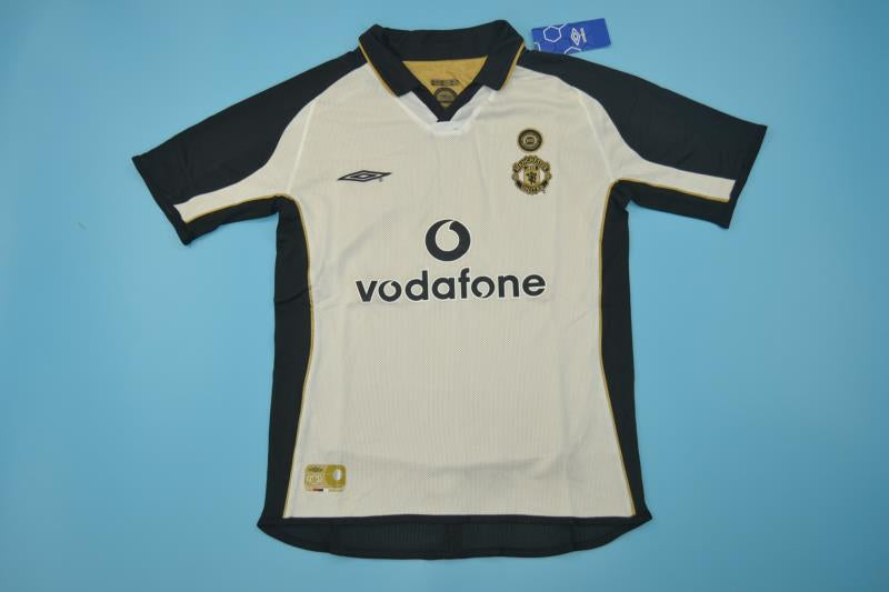 san francisco b129b c80eb MANCHESTER UNITED 2001 2002 VAN NISTELROOY REVERSIBLE CENTENARY SOCCER  JERSEY