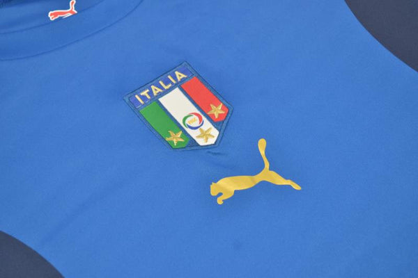 ITALY 2006 DEL PIERO 7 WORLD CUP HOME  JERSEY