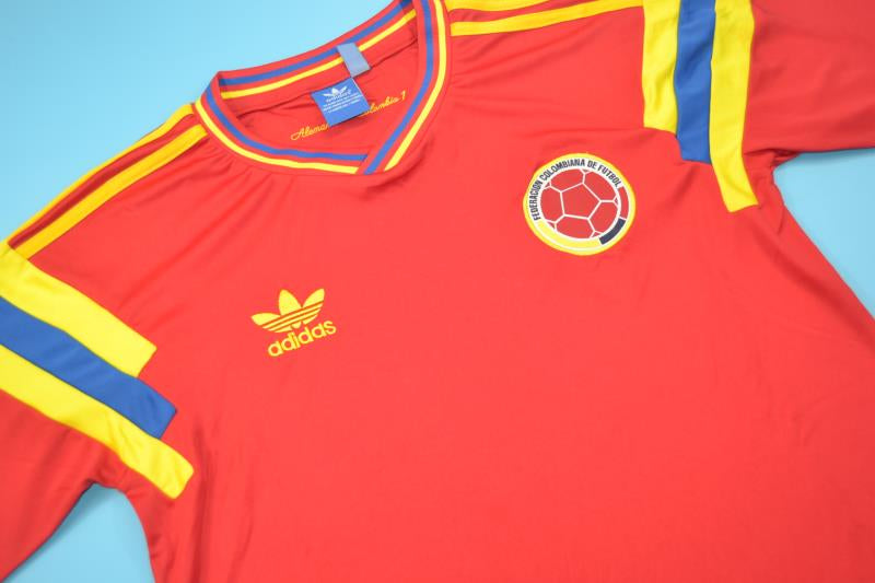 5d96c5e68 COLOMBIA 1990 WORLD CUP HOME FOOTBALL SHIRT SOCCER JERSEY – Vintage ...