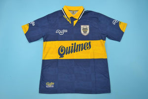 uk availability ff0c1 12a76 BOCA JUNIORS 1995 MARADONA 10 HOME FOOTBALL SHIRT SOCCER ...