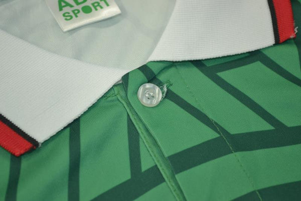 MEXICO 1998 WORLD CUP BLANCO 11 HOME  JERSEY