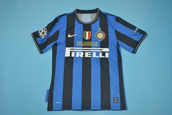 INTER MILAN 2010 MILITO 22 UCL FINAL HOME JERSEY