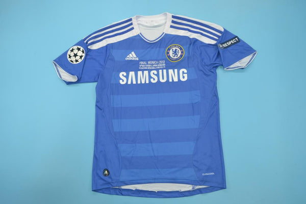 CHELSEA 2012 LAMPARD 8 UCL FINAL HOME JERSEY