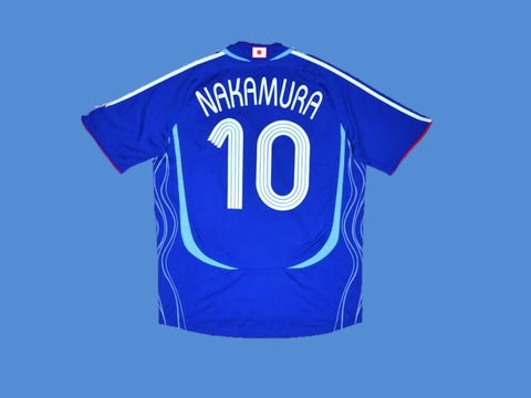 JAPAN 2006 WORLD CUP NAKAMURA 10 HOME JERSEY