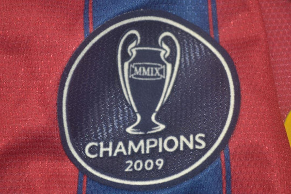 BARCELONA 2009 2010 MESSI 10 WORLD CHAMPIONS HOME JERSEY