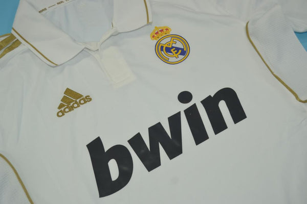 REAL MADRID 2011-2012 RONALDO 7  HOME JERSEY