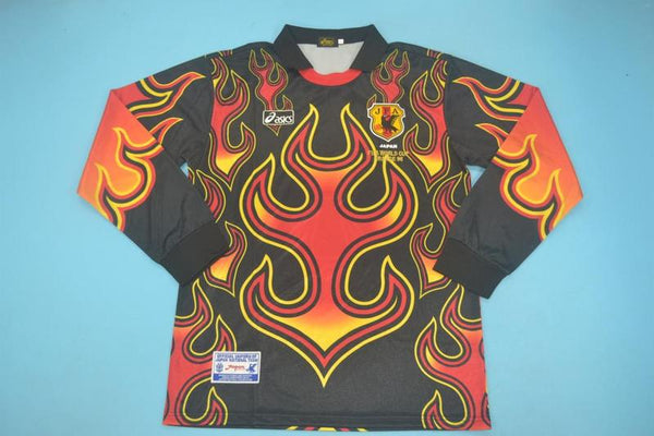 JAPAN 1998 RED  GOALKEEPER  JERSEY