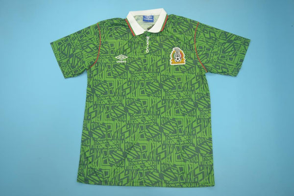 MEXICO 1994 WORLD CUP HOME  JERSEY