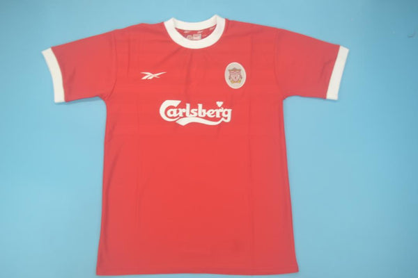 LIVERPOOL 1998 2000 HOME  JERSEY LONG SLEEVE
