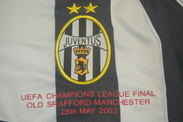 JUVENTUS 2002 2003 NEDVED 11 HOME JERSEY CHAMPIONS LEAGUE