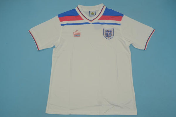 ENGLAND 1980 NUMBER 7 HOME  JERSEY