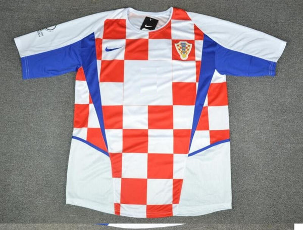 CROATIA 2002 WORLD CUP HOME JERSEY