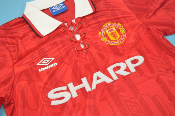 MANCHESTER UNITED 1994 CANTONA 7 HOME JERSEY